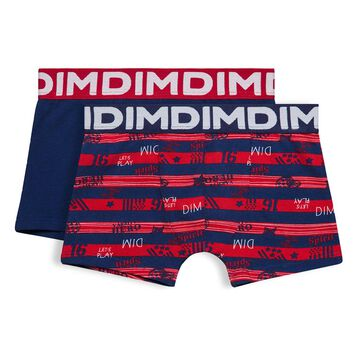 Set of 2 DIM Boy ruby red boxers - DIM