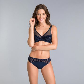 Limited edition Generous black underwired bra - DIM