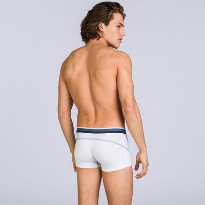 White DIM Sport trunks, , DIM