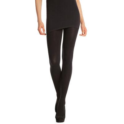 Collant noir ultra-opaque 80D Madame So Daily-DIM