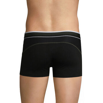 Breathable trunks in black cotton - Dim Sport, , DIM