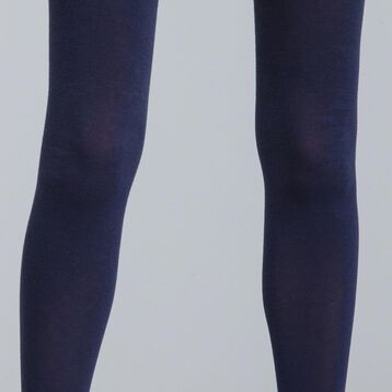DIM Signature 158 navy cashmere tights - DIM