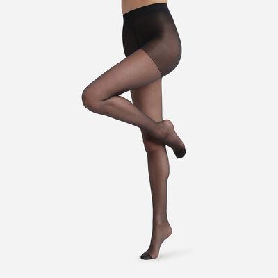 Diam's Voile Galbé 22 sheer shaping tights in black, , DIM