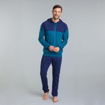 Pantalon jogging bleu matelot Night Gentleman-DIM