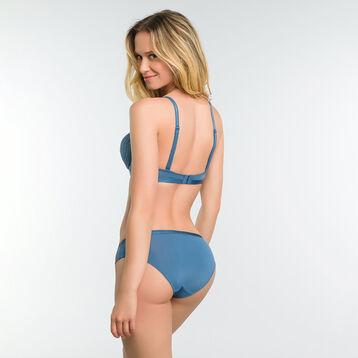 Women's blue lace knickers - Dim Daily Glam Trendy Sexy, , DIM