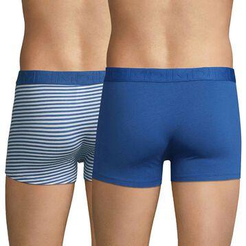 2-pack blue trunks - Dim Mix & Fancy, , DIM