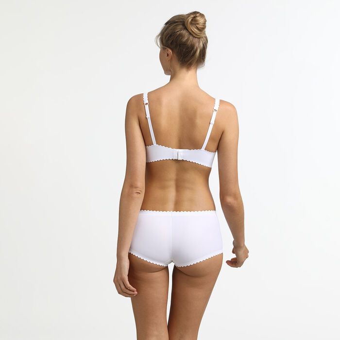 Body Touch Dim White microfibre Shorty, , DIM