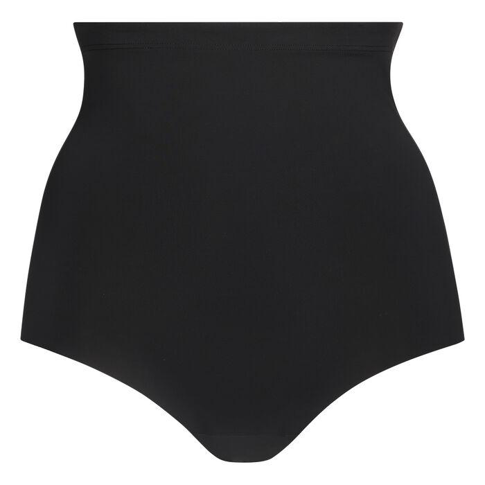 Diam's Control high rise slimming knickers in black, , DIM
