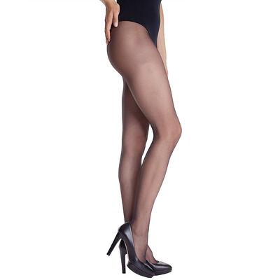 Collant noir DIM SIGNATURE Transparent Velouté 15D-DIM