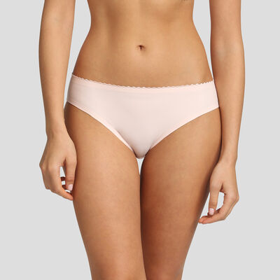 Dim New Body Touch Air ballerina pink briefs , , DIM