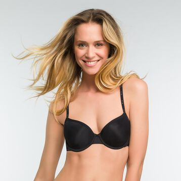 Black full cup bra - DIM Originals, , DIM