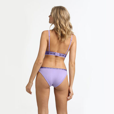 Originals Cotton Lilac High Waist Brief, , DIM