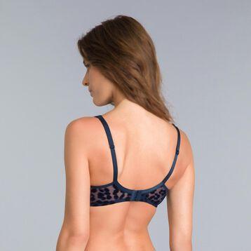 Limited edition Generous blue underwired bra - DIM