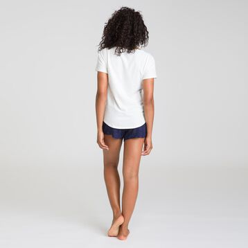 Soft & Cool sailor blue pyjama shorts - DIM