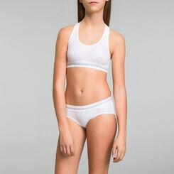 DIM Girl white sport shorties - DIM