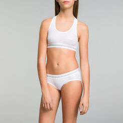 DIM Girl white sport shorties - DIM