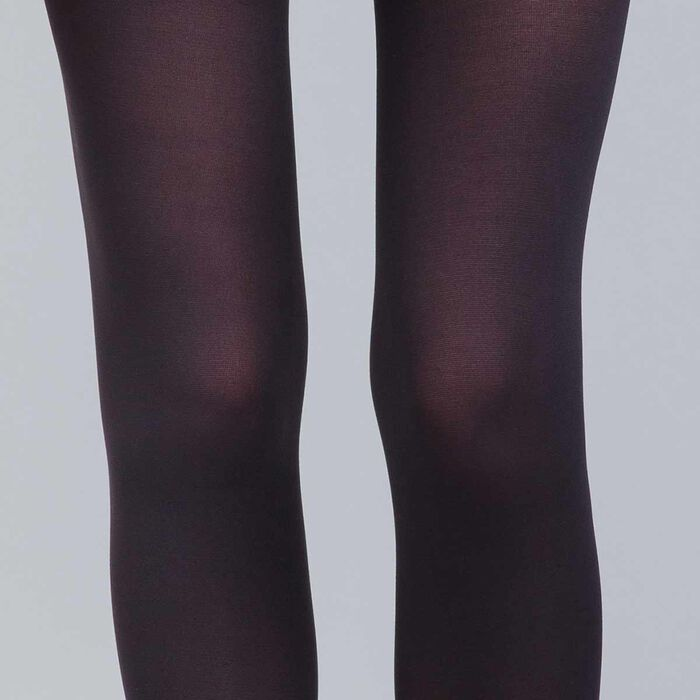 Body Touch 60 ultra-opaque black tights, , DIM