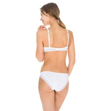 Invisi Fit second skin bikini knickers in white, , DIM