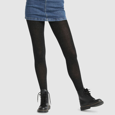 Dim Style speckled knit fancy tights, , DIM