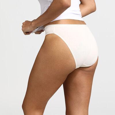 Комплект из 3 трусиков-слипов Les Pockets Coton телесного/розового/перламутрового цвета, , DIM