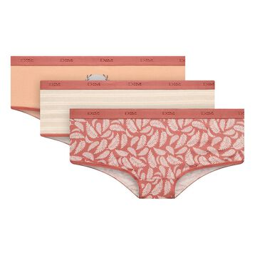 Lot de 3 boxers Antique - Les Pockets Coton Stretch, , DIM