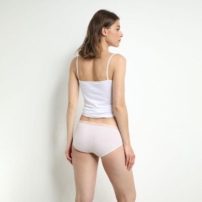 Les Pockets Women's 4 Pack of Geometric Stretch Cotton Boxers, , DIM