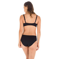Black Body Touch balconette bra, , DIM