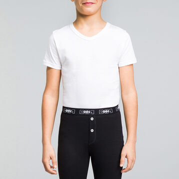 Short sleeves t-shirt with V neckline for boy - Dynamic, , DIM