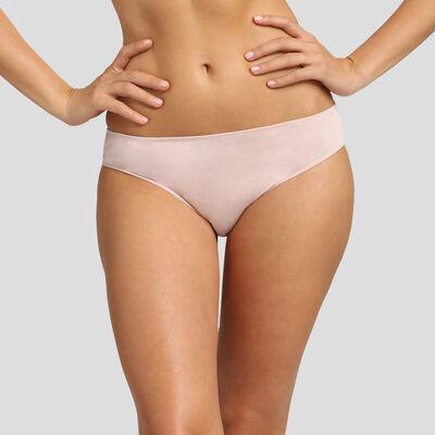 Dim Cosy Lady nude pink modal cotton briefs , , DIM