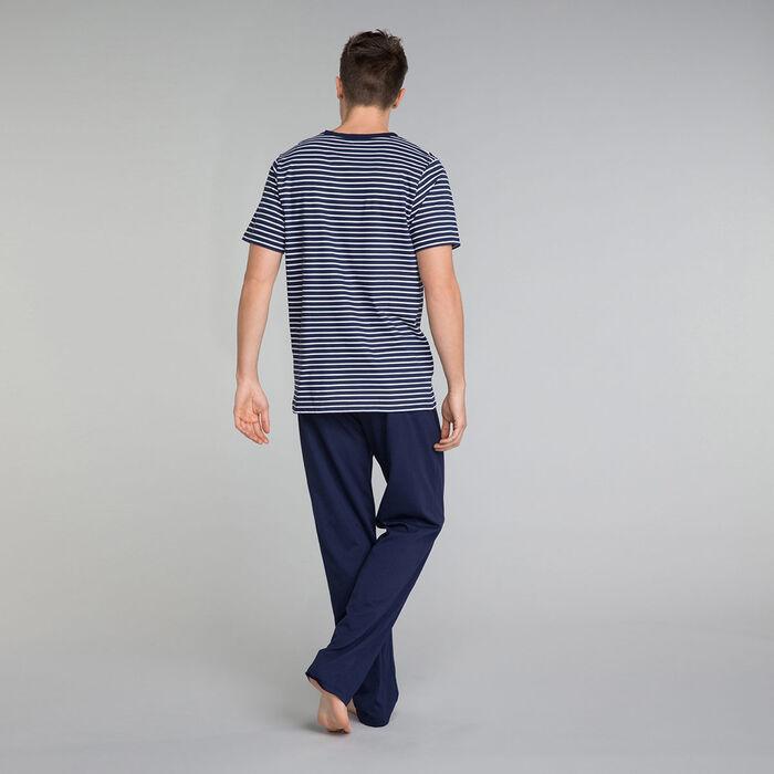 Navy blue pyjama pants - Fashion Navy , , DIM