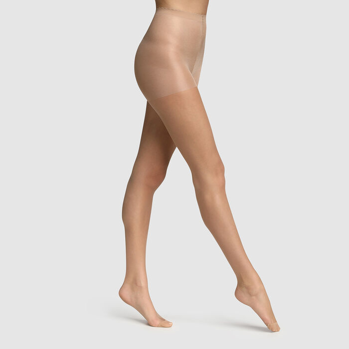Body Touch Dim 17D Beige sheer veil tights with nude effect, , DIM