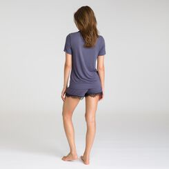 Pure Essential grey short-sleeve T-shirt  - DIM
