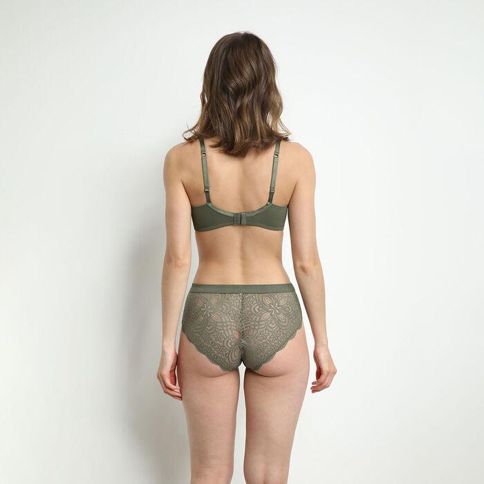 Jolie Madame Microfiber and lace women's bra, , DIM
