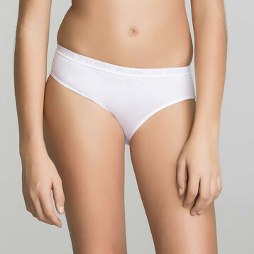 2-pack knickers in white - Pocket Micro, , DIM