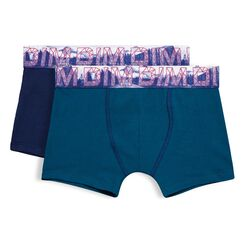 Set of 2 Northern Boy sailor blue and diesel blue boxers - DIM