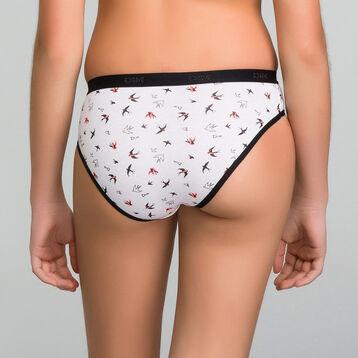 Lot de 3+1 culottes fille noires - Les Pockets, , DIM