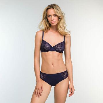 Infinite Blue Lace Balconette Bra  Sublim Fashion, , DIM