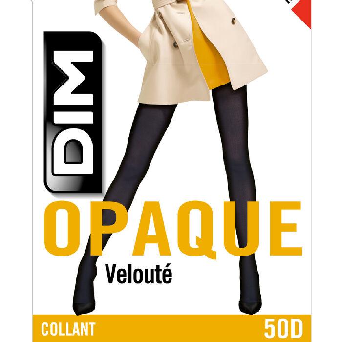 Collant chocolat opaque velouté Style 50D, , DIM