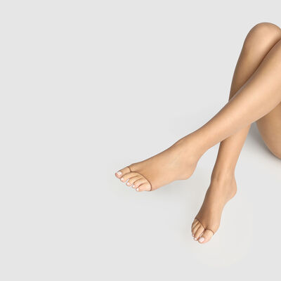 Teint de Soleil 17 toeless bronzer tights in tan, , DIM