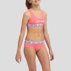 Grenadine stretch cotton bra Dim Girl, , DIM