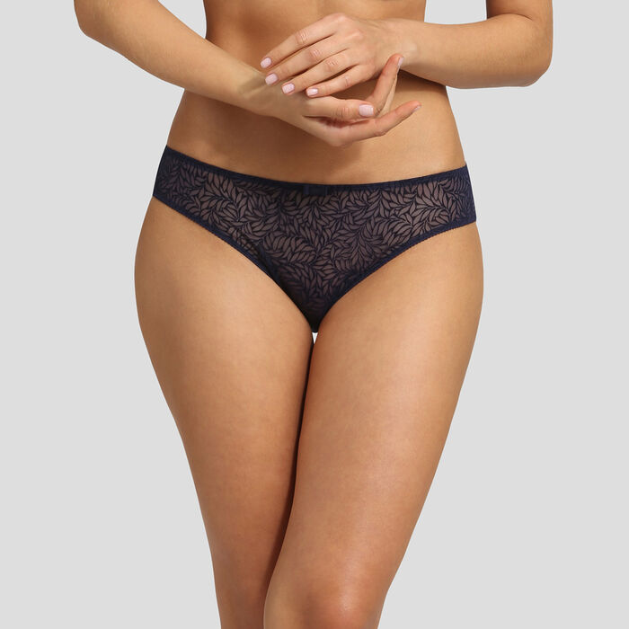 Velvet infinite blue brief Dim Sublim, , DIM