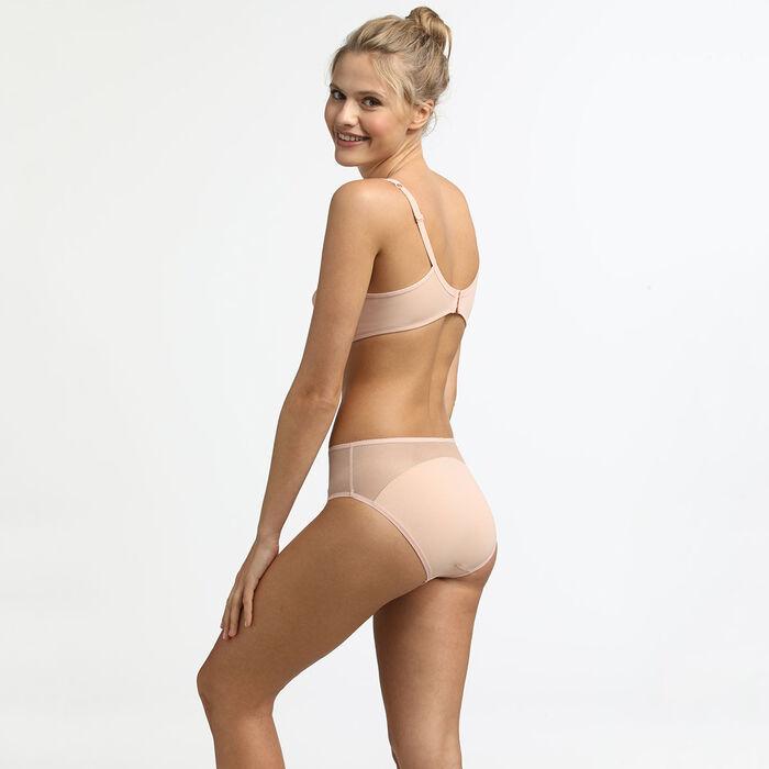 Generous Limited Edition underwire bra with nude sequin underwire, , DIM