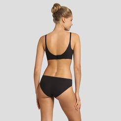 Black soft non-wired triangle bra New Body Touch Libre de Dim, , DIM