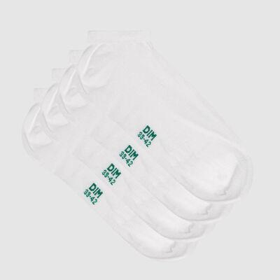 Набор 2 шт.: белые мужские носки из лиоцелла Green by Dim, , DIM