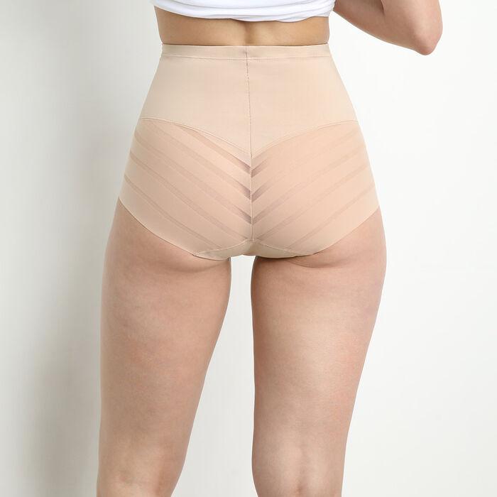 Diam's Control high rise tummy flattening knickers in nude, , DIM