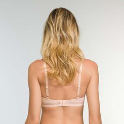 Trendy Micro Microfiber Push up Bra in Nude Pink, , DIM