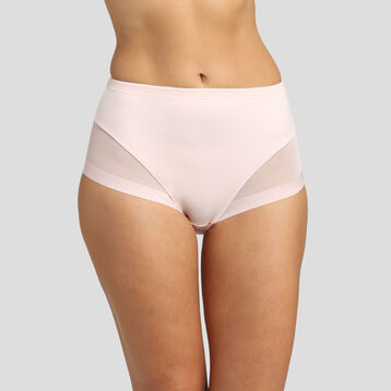 Culotte taille haute invisible rose ballerine Generous Limited Edition, , DIM