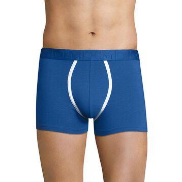 Blue night trunks with white seams - Dim Mix & Fancy, , DIM