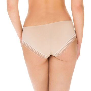 Invisi Fit second skin hipsters in barely beige, , DIM