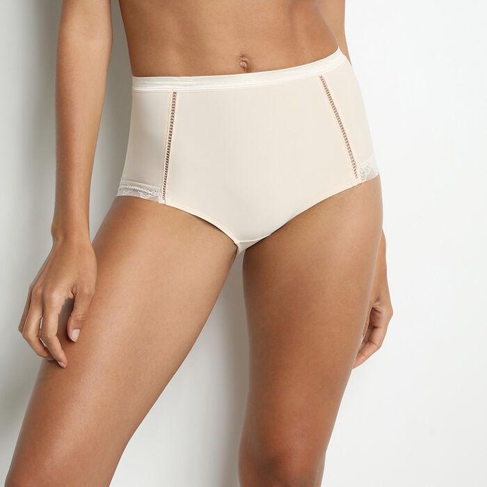 Diam's Action Minceur tummy-flattening knickers in creamy beige, , DIM